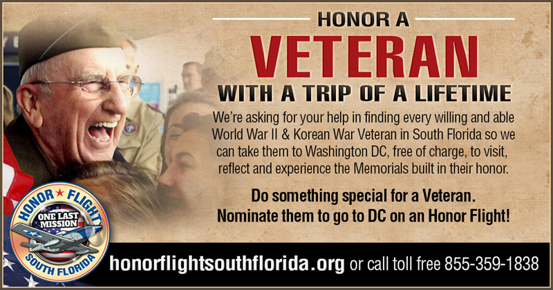Honor a Veteran with a trip of a lifetime