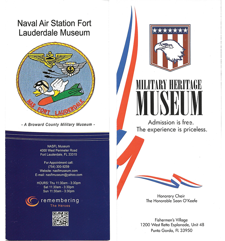 Naval Air Station Fort Lauderdale Museum (and) Military Heritage Museum