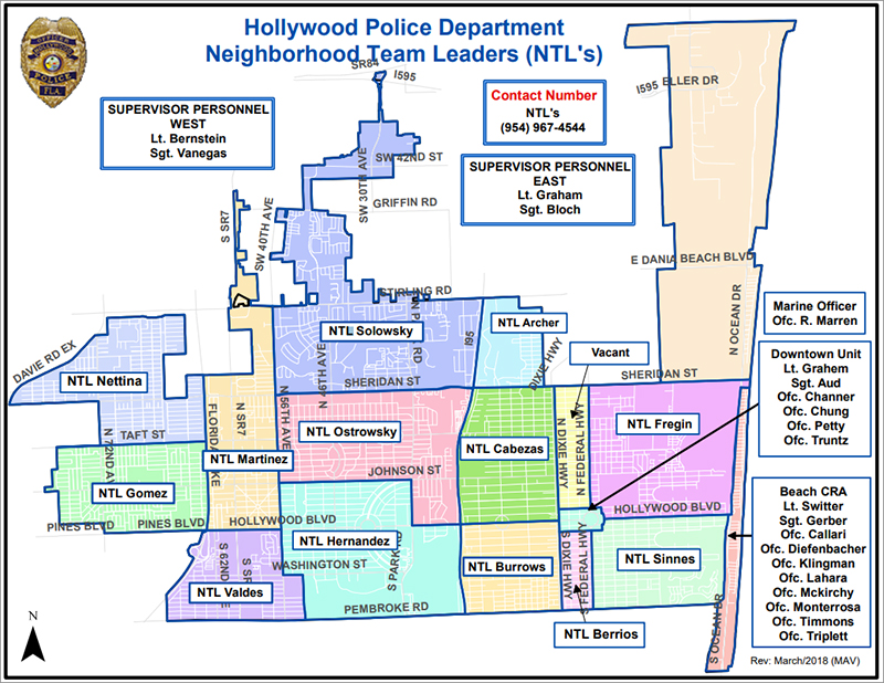 Hollywood Code Enforcement Map